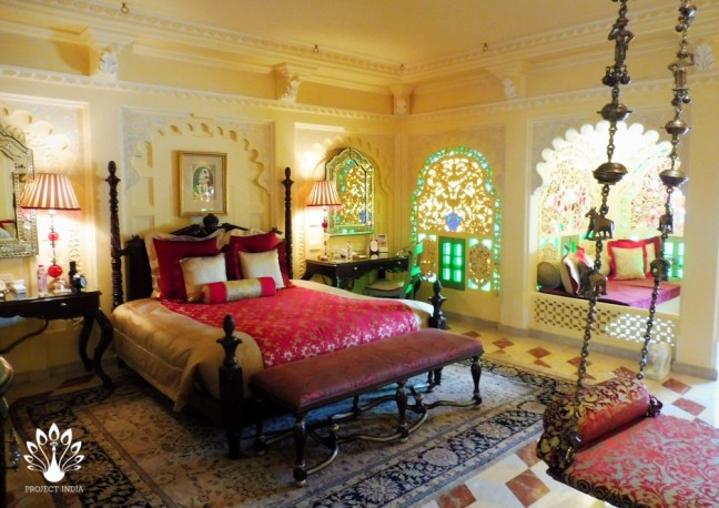 Taj Lake Palace room