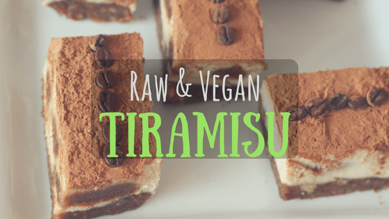 Raw & Vegan Tiramisu