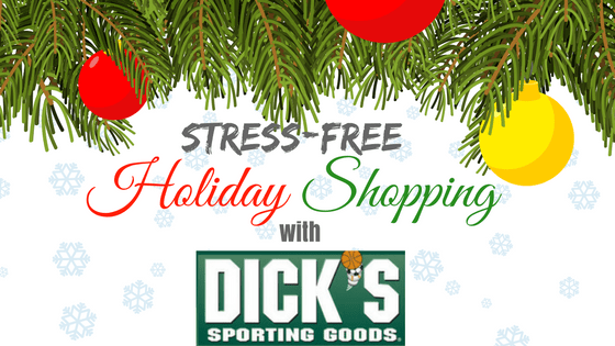 Stress-free holiday shopping with DICK'S Sporting Goods (GIVEAWAY CLOSED)