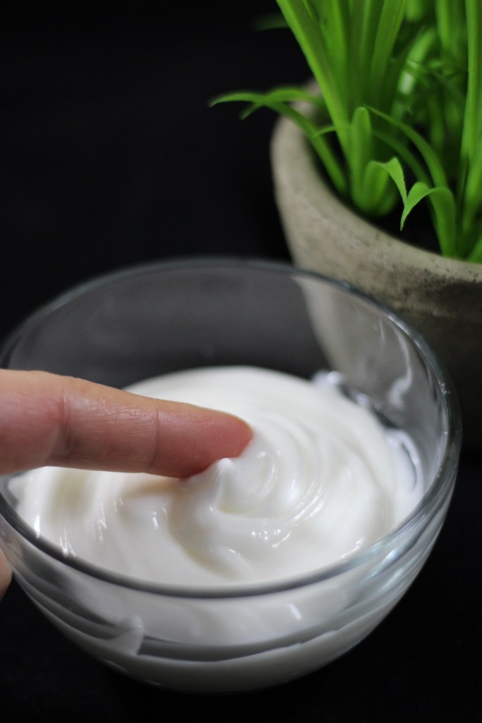 natural body cream recipe