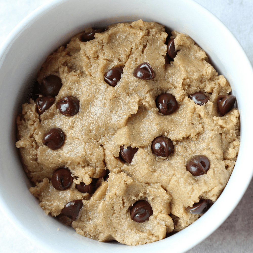 Edible Cookie Dough Recipe [Vegan & Gluten Free]