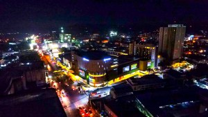 PHOTO: Centrio Ayala Mall Aerial View at Night