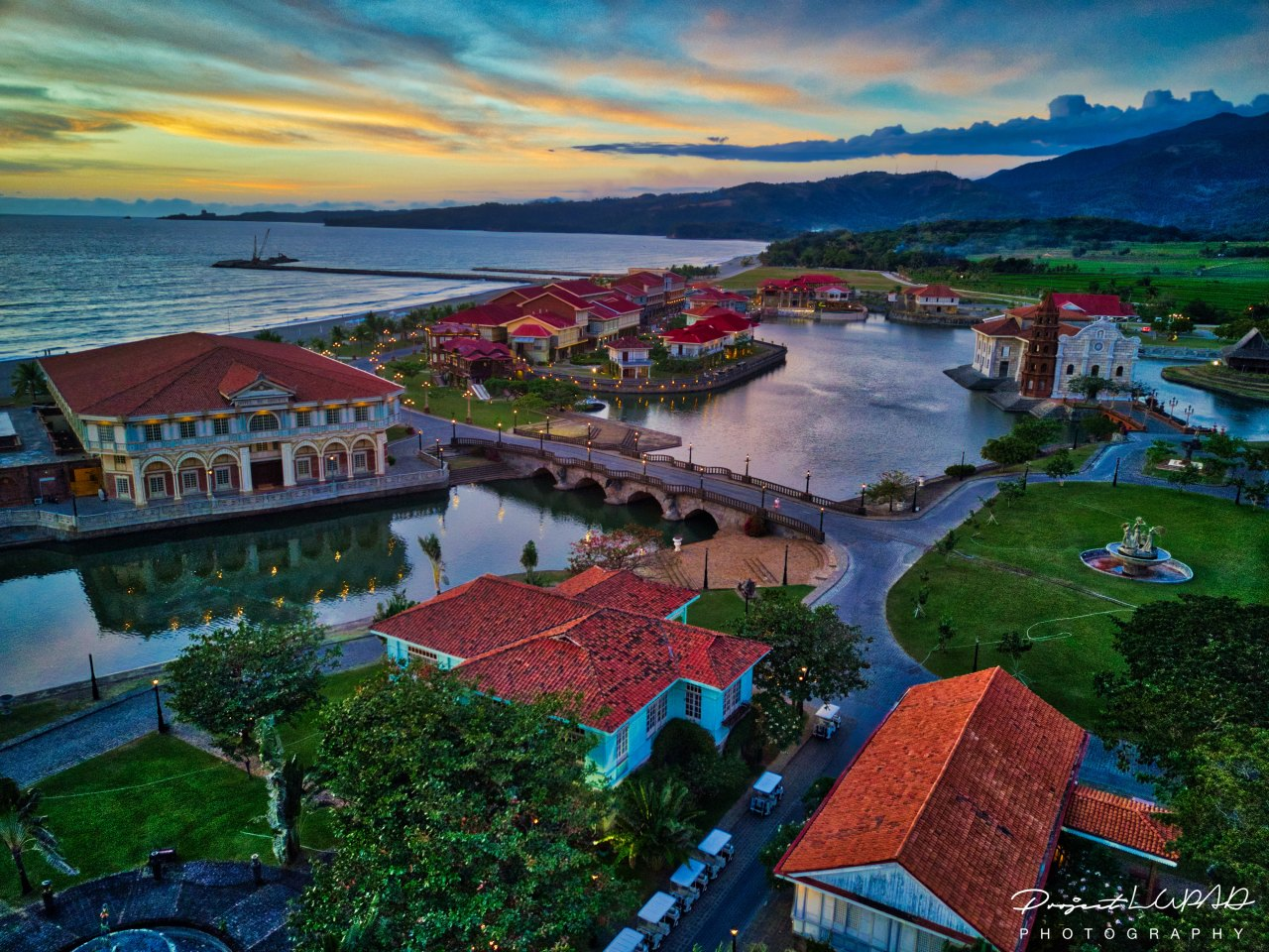 Photos Las Casas Filipinas De Acuzar Aerial View