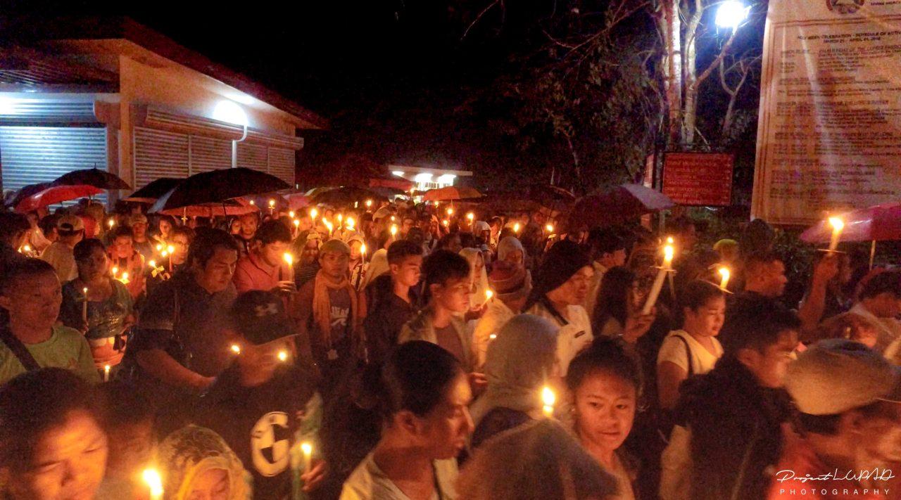 3 AM dawn procession.