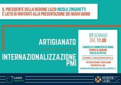 Presentazione dei nuovi bandi Fondo perl'artigianato e Fondo perl'internazionalizzazione delle PMI