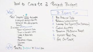 así es como se construye un presupuesto del proyecto