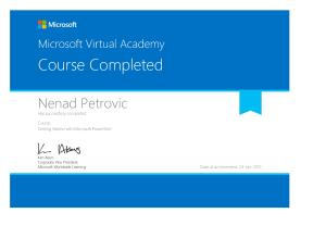 Certificate MS PowerShell