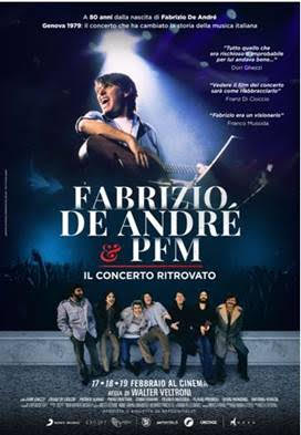 Fabrizio De André e PFM. Il concerto ritrovato: aperte le prevendite