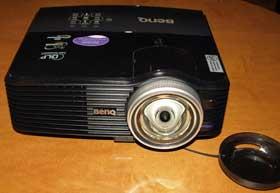 Обзор мультимедийного проектора BenQ MP772ST DLP