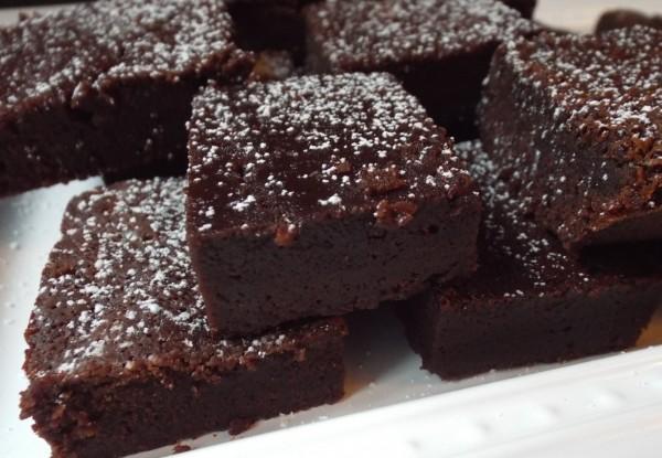 Chocolate Souffle Brownies