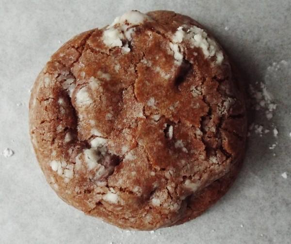 Peppermint Pattie Surprise Cookies