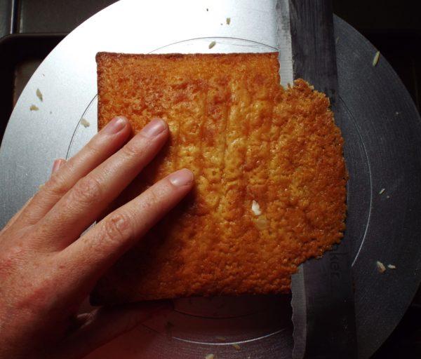 A Dense Almond Cake