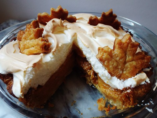Pumpkin Meringue Pie 048-2