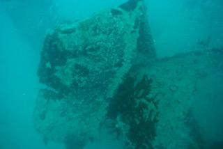 sunken ship palau