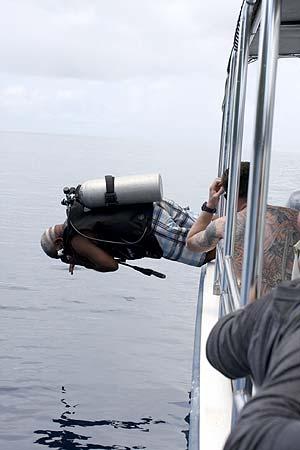 front flip dive entry