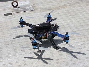 The octocopter