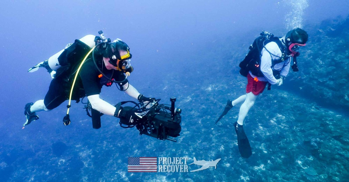Project Recover and BentProp teammates Dive Training for WWII MIA Search in Mexico - Photo by Harry Parker Photography