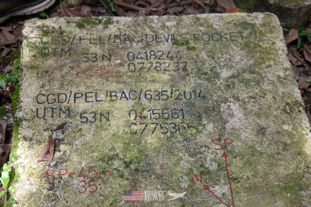 WWII artifact on Peleliu