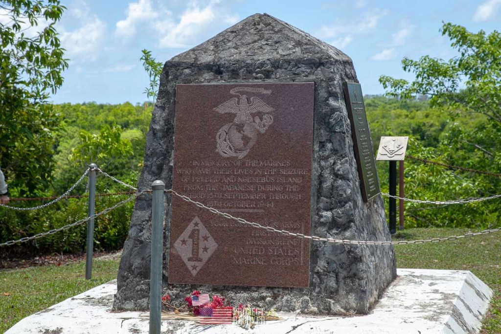 USMC Monument on Peleliu