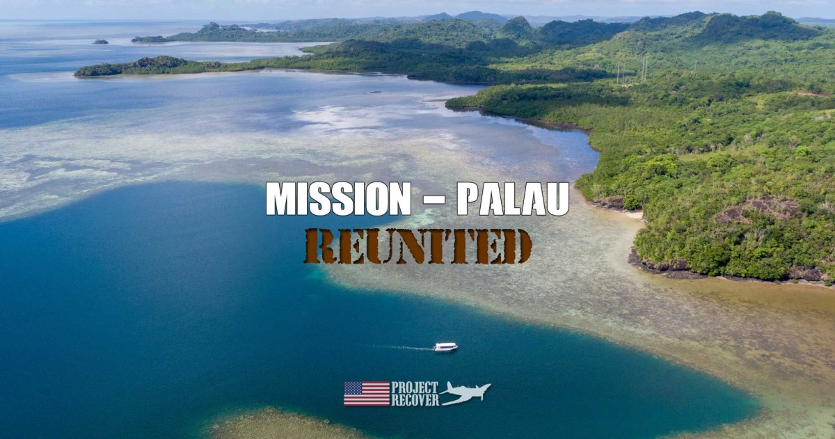 Project Recover Mission, Palau.]Photo by Harry Parker Photography