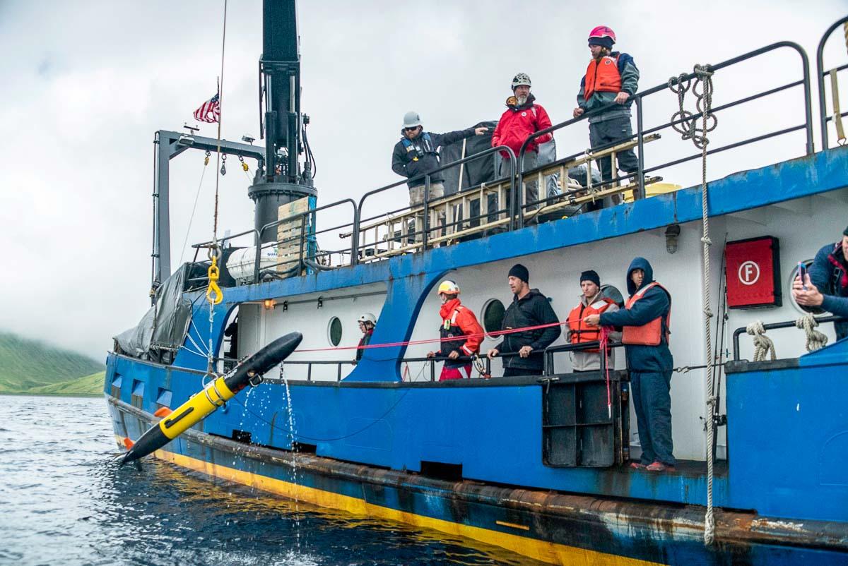 Ocean UAV Delivery