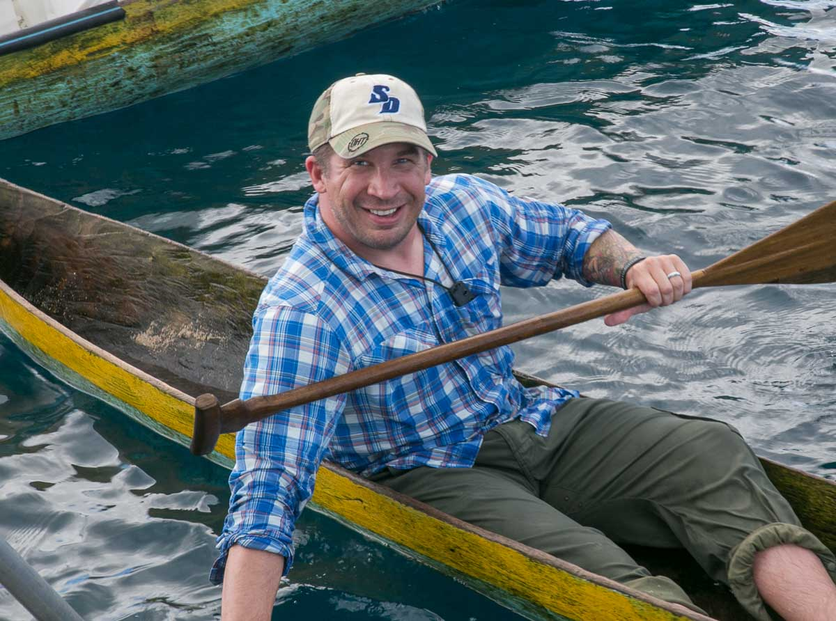 Derek Abbey, Ph.D. in Canoe