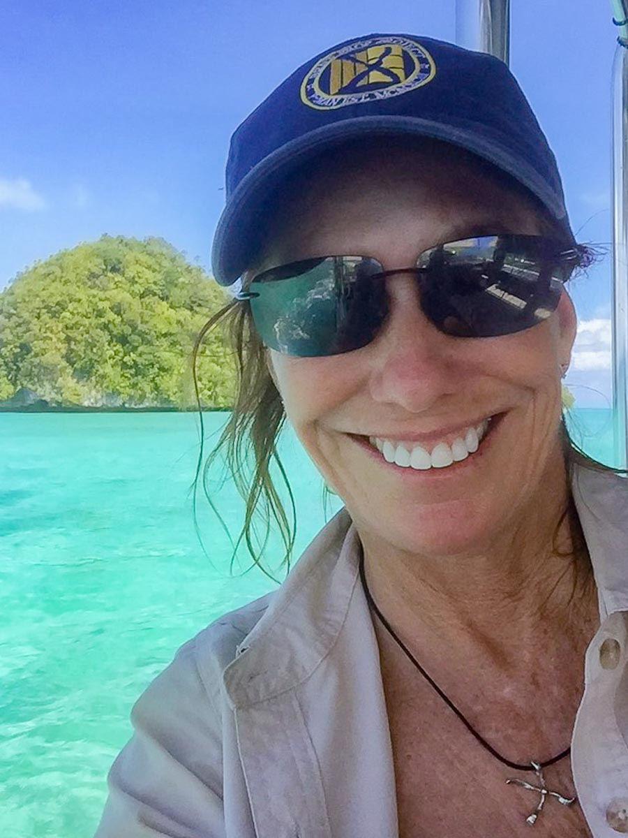 Val Thal-Slocum in Palau on Mission
