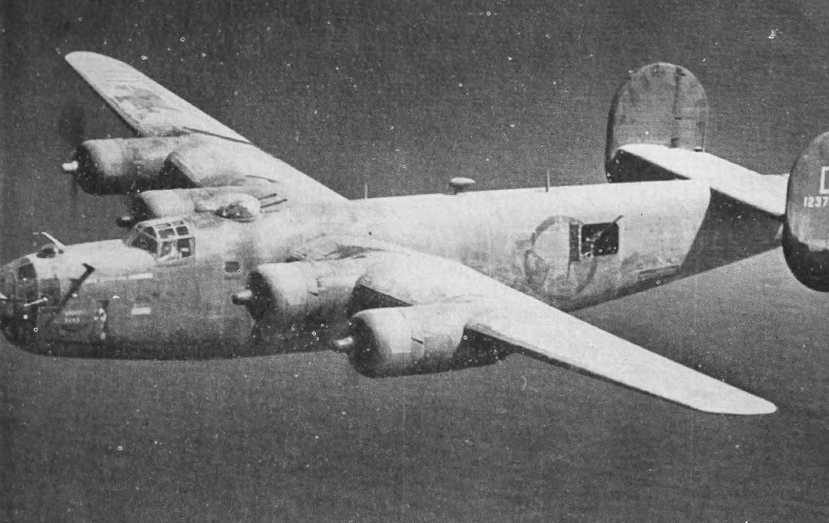 B-24 Shoot Luke-in flight