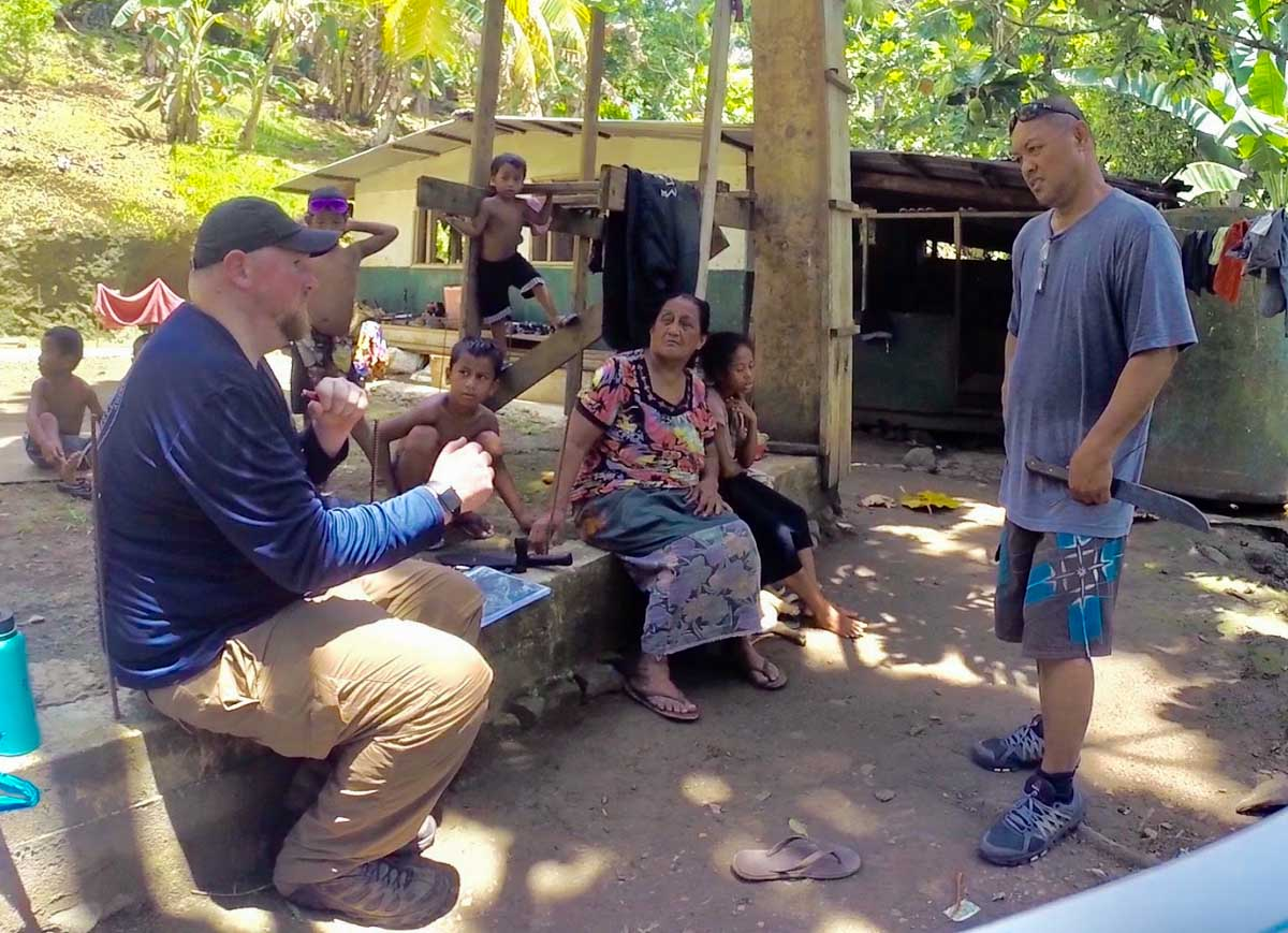 Dr. Colin Colbourn Interview the locals