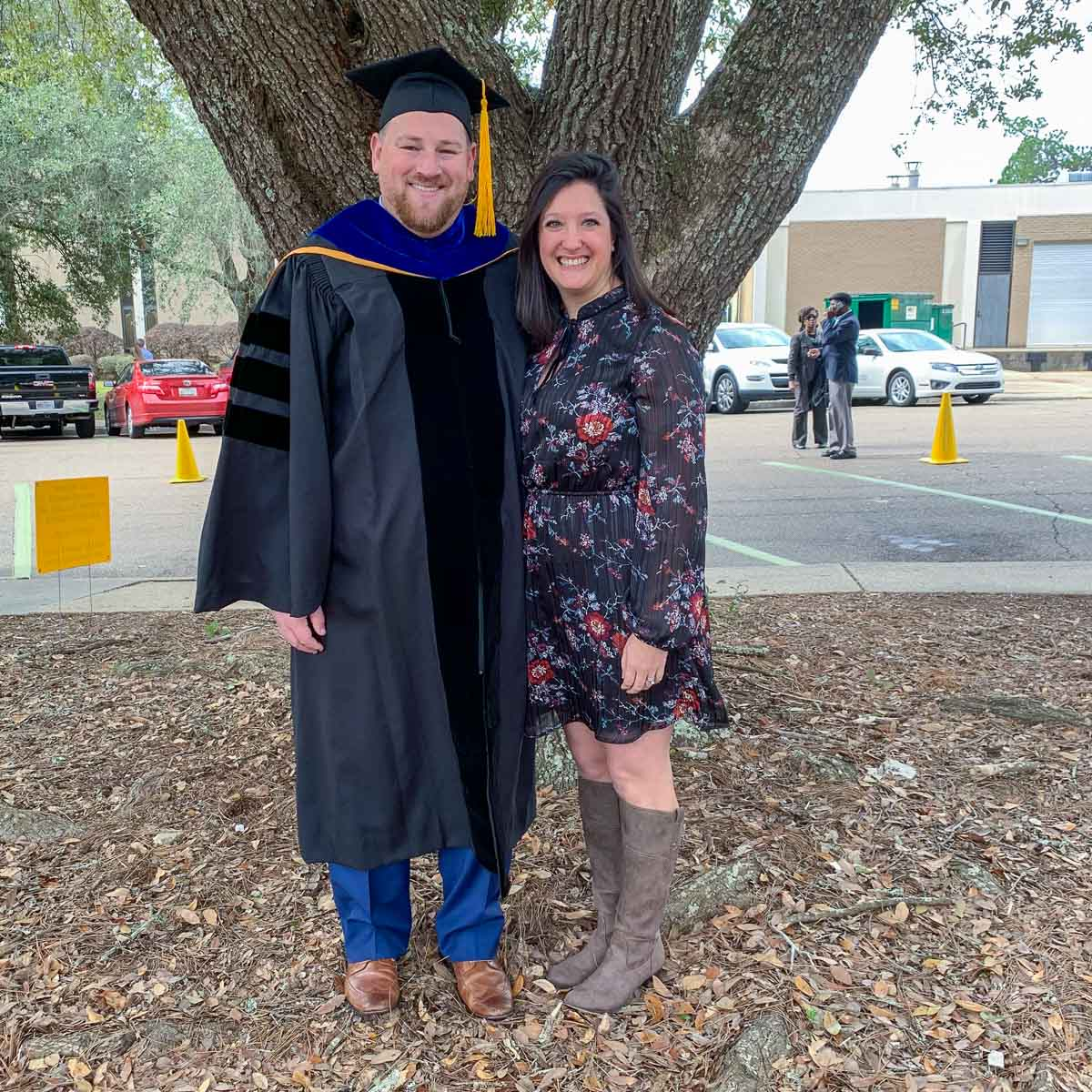 Colin Colbourn's Ph.D. Graduation photo