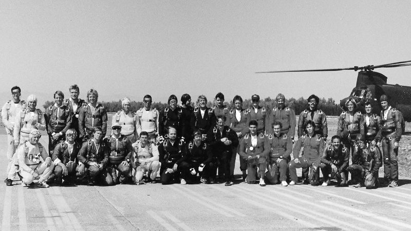 Seoul Olympic Skydiving Exhibition Team, 1988