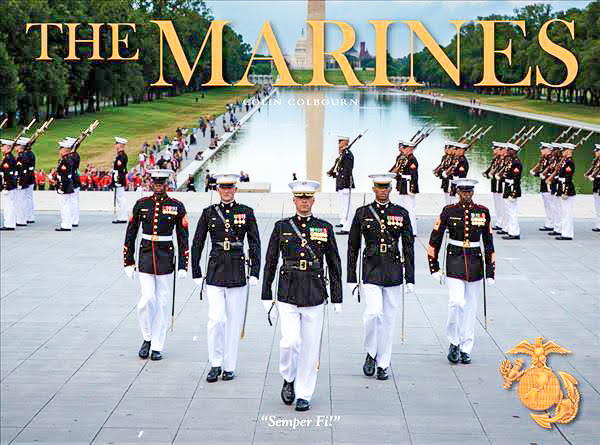 The Marines Book Cover By Dr. Coin Colbourn