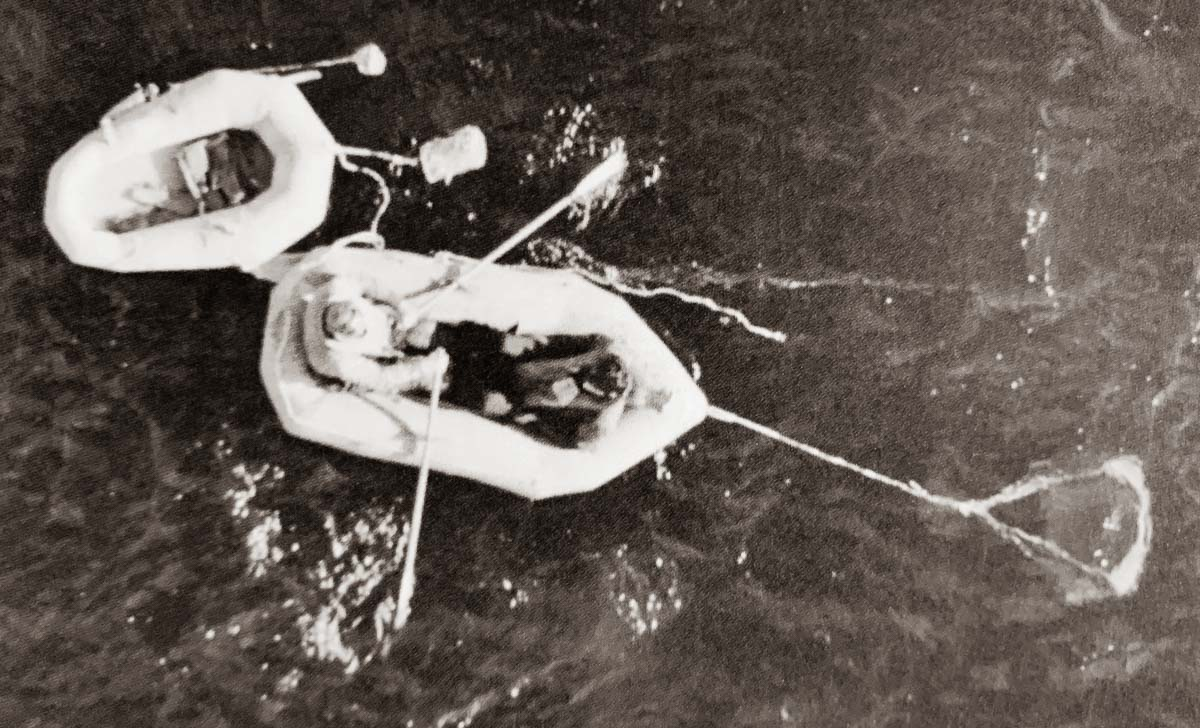 Two-Man Lifeboat WWII