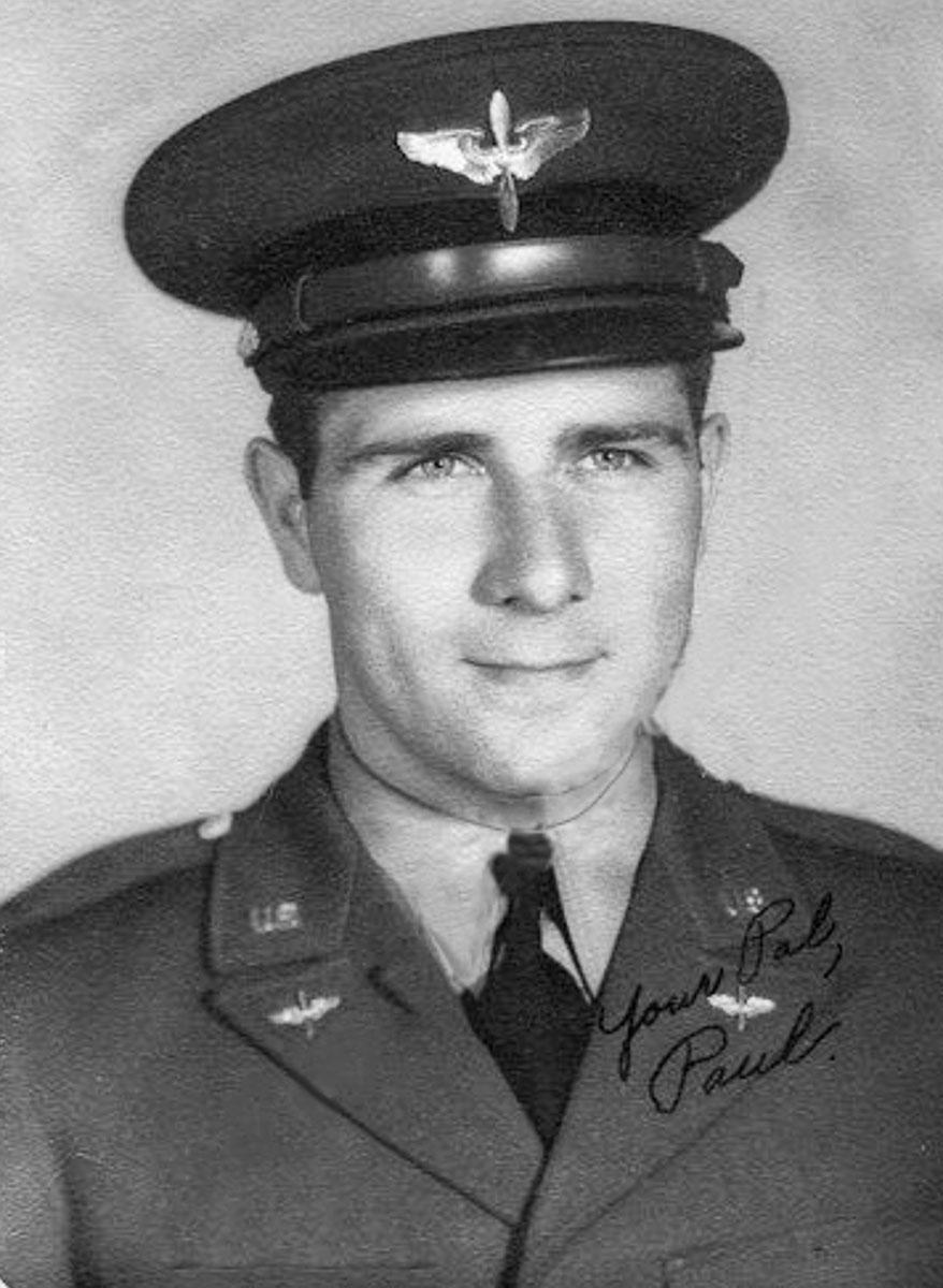 1st Lt. Paul L. Schwartz, B-17 navigator