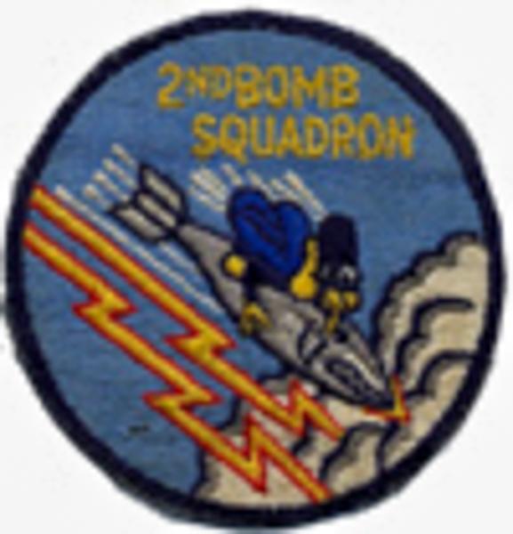 2d Bomb Squadron Patch