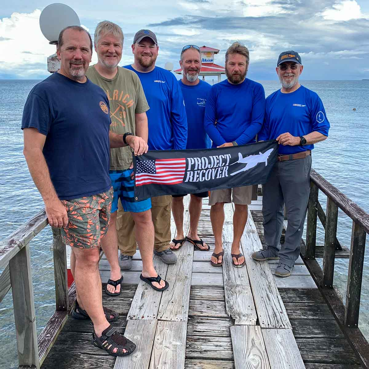 Project Recover Team Truk Stop Pier, Chuuk