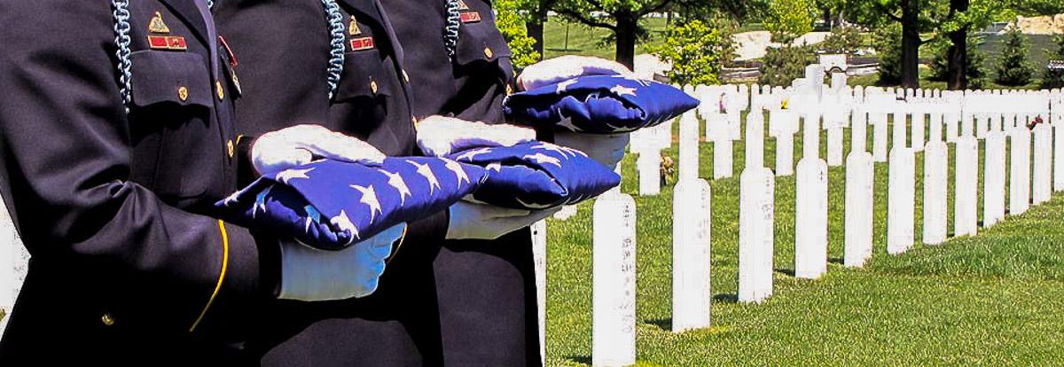 Flag Ceremony Arlington Burial 2010