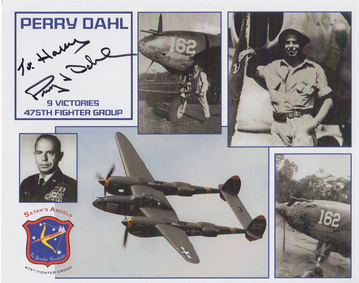 Perry Dahl Autograph