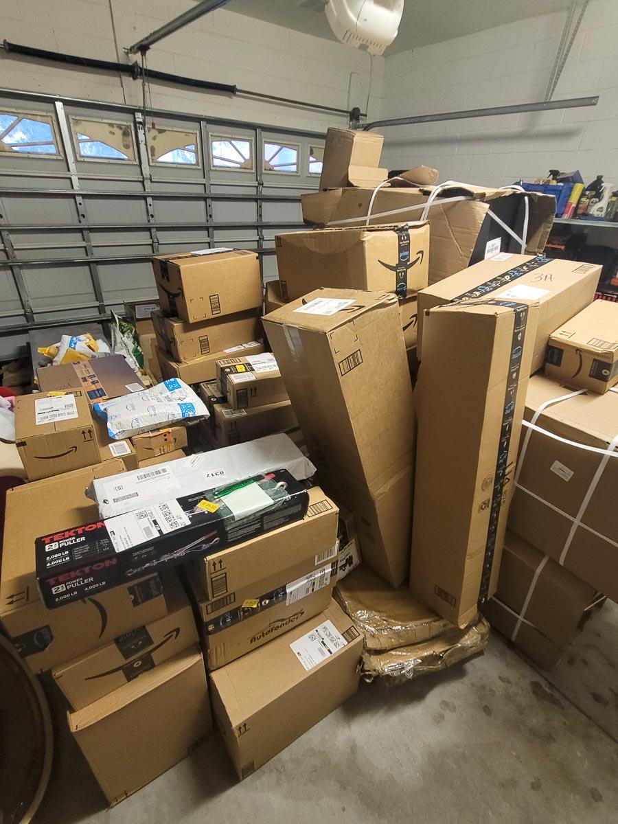 Massive Amazon Delivery