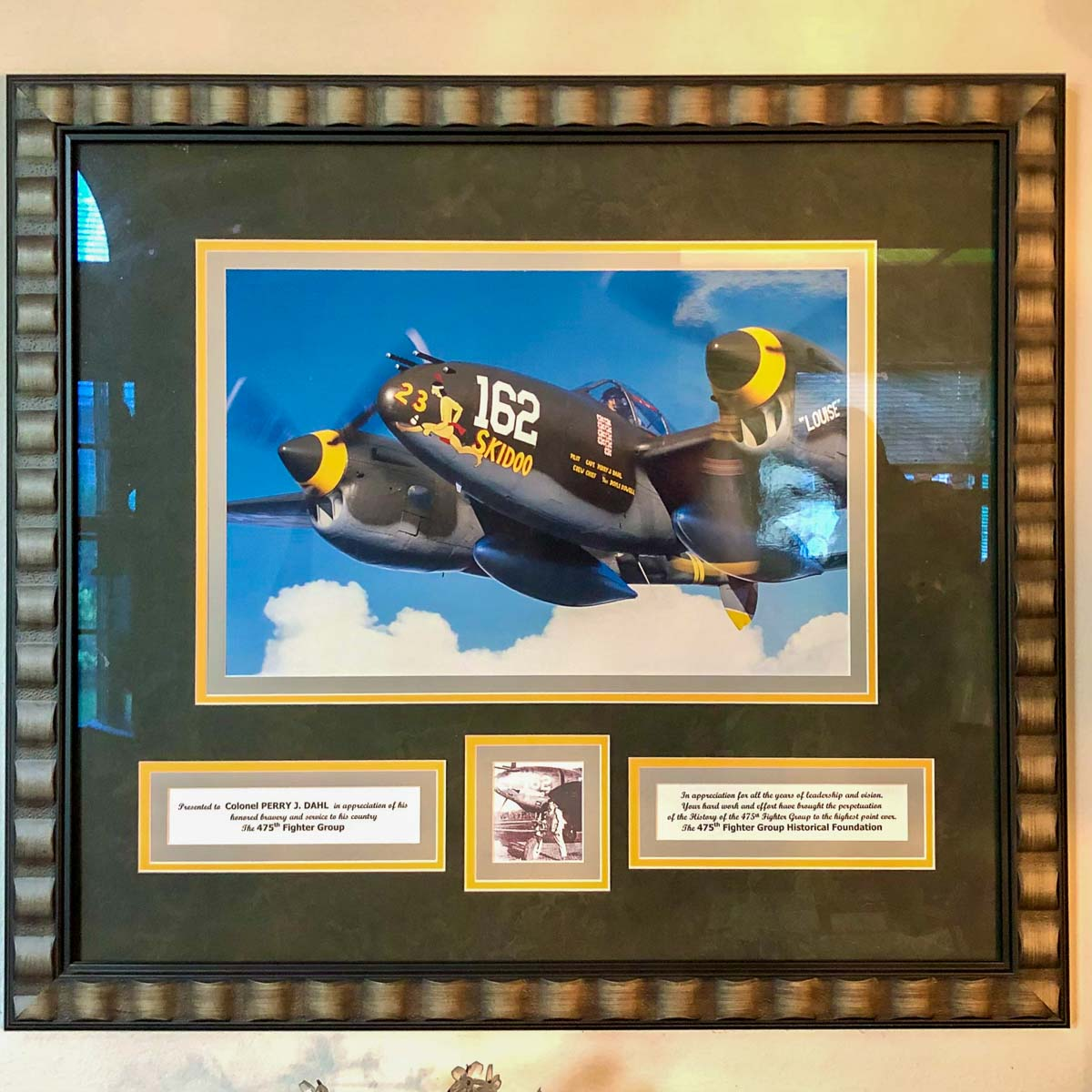 Perry Dahl 475th fighter group