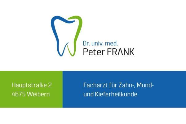 LogoDesign Zahnarzt Dr. Peter Frank