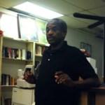 Al Pertilla at Gwen's birthday celebration (The Know Bookstore, Durham, NC)