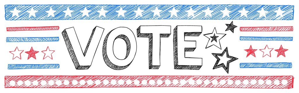 Vote Banner, Project School Wellness, Election Lesson Plans-01