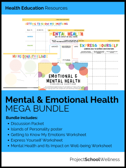 Inside & Out of Emotions and Mental Health! This is a must have bundle for every middle school classroom!