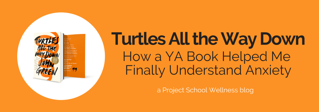 Turtles All the Way Down: How a YA Book Helped Me Finally Understand Anxiety and mental illness. I did not understand anxiety in the slightest unit I read John Green's Turtles All the Way Down. This YA novel is a must read for every teacher. This book taught me so much about anxiety, OCD and mental illness in general. John Green writes about mental illness in such a profound manner. If you want to learn about anxiety and mental health you need to read this book. How to teach students with anxiety. How to handle anxiety in your classroom. Understanding anxiety when you've never experienced it.