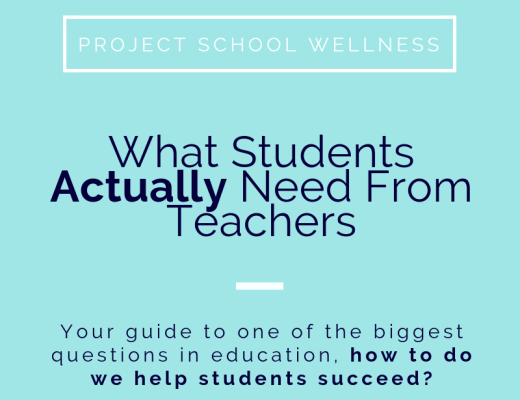 What Students Actually Need From Teachers - - Your guide to one of the biggest questions in education, how to do we help students succeed?