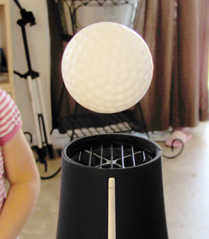 The ping pong ball experiment