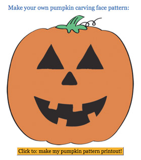 design your own pumpkin carving stencils