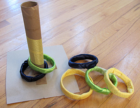 how to play ring toss