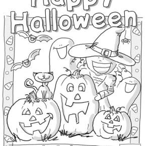 halloween coloring pages preschool - photo#27